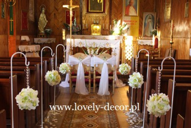 Dekoracje kościoła Sanok