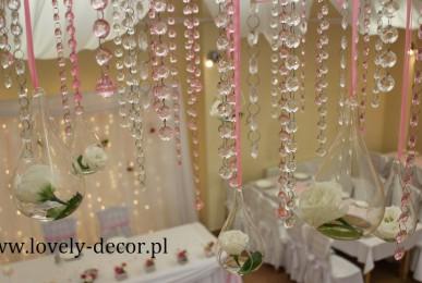 dekoracje weselne Besko