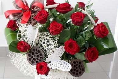 kosz róż (2)