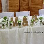wesele w stylu wiejskim , rustykalnym