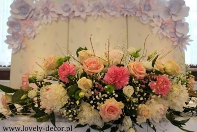 dekoracje weselne krosno, sanok , brzozów
