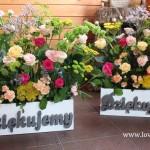podziekowania dla rodziców skrzynki kwiatowe