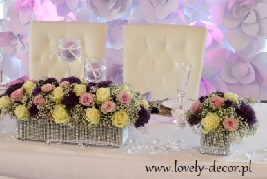 dekoracje weselne  sala Harnaś w sanoku