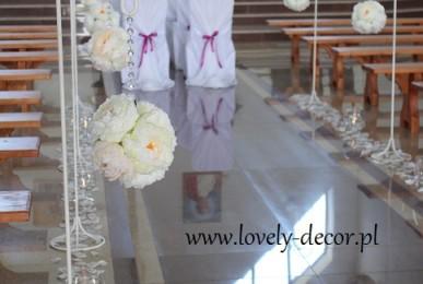 dekoracja koscioła