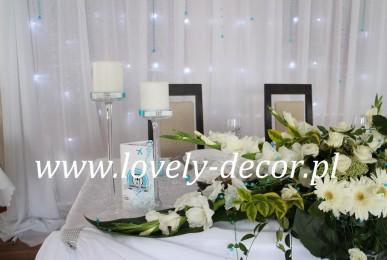 dekoracje weselne bog mar rymanów sala