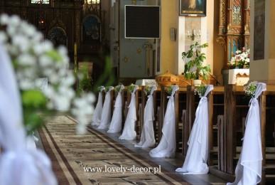 dekoracja kościoła w lubeni