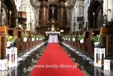 kapucyni krosno dekoracja kościoła