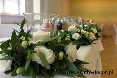 dekoracje sal weselnych podkarpacie