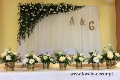 dekoracje sala weselnych sanok, sala w zabłoćcach