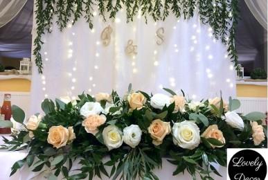 dekoracje weselne kreosno
