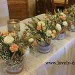 dekoracje weselne rustykalne