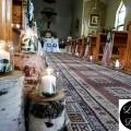 Dekoracja Kościoła na ślub Brzoza kościół w Głojscach