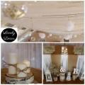 Sala w Humniskach dekoracje weselne