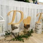 dekoracje weselne sala w Niebieszczanach