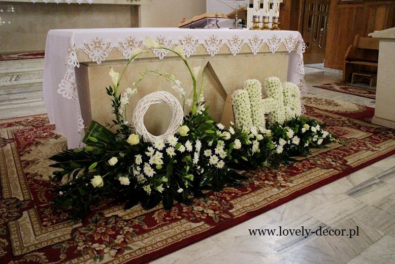 Dekoracja Kościoła W Besku Pierwsza Komunia świętalovely