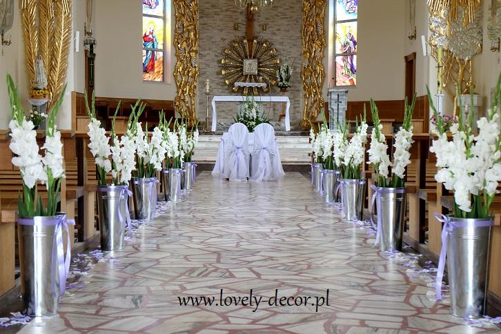 Dekoracje ślubne Kościołalovely Decor Lovely Decor