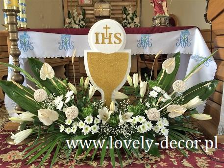 Dekoracja Kościoła Na Komunię Kościół Bażanówkalovely