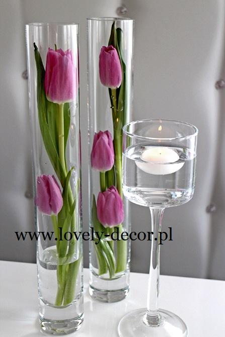 Tulipany Motyw Przewodni Wesela ślubu Dekoracje Sal